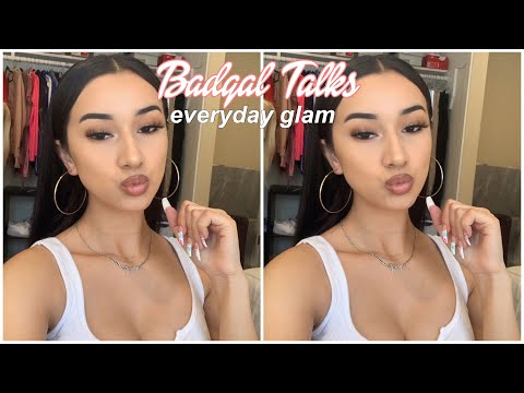 EVERYDAY GLAM TUTORIAL 2019 (HAIR & MAKEUP) thumbnail