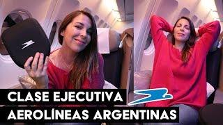CLASE EJECUTIVA DE AEROLÍNEAS ARGENTINAS A MADRID   Ceci de Viaje