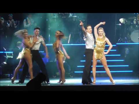 Brendan Cole does the jive in Dunfermline