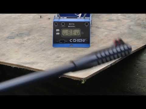 Пневм. винтовка SMERSH 100 (R1 N-06) - Измерение скорости