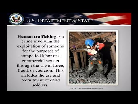 Trafficking in Persons: FY 2018 Annual Grants Process Tutorial: Stage One - Request for Statement
