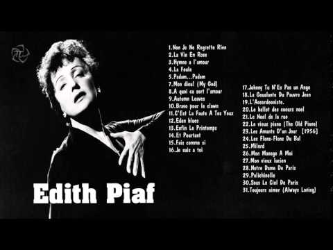 EDITH PIAF    Les Meilleures Chansons