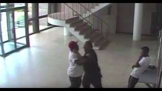Springfield Police-Jerry Bellamy incident in police HQ lobby, in front of building