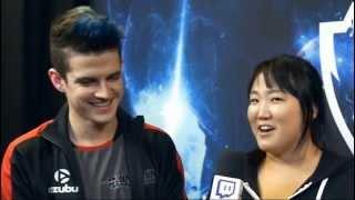 Kami | Entrevista para a Twitch Korea com Susie Kim | Mundial Dia 4