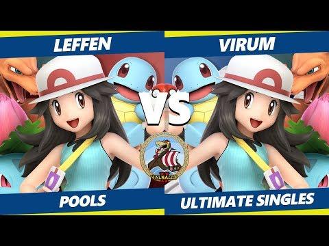 Smash Ultimate Tournament - TSM   Leffen (P. Trainer) Vs. Virum (P. Trainer) Valhalla II SSBU Pools