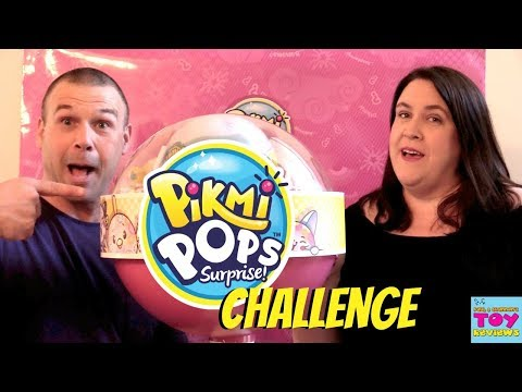 Pikmi Pops Surprise Giant Lollipop Challenge Toy Review Opening | PSToyReviews