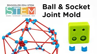 3D Pen | 3Doodler STEM DoodleMold Series - Geodesic Dome