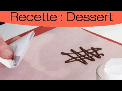 Comment realiser vos decorations au chocolat youtube - Faire un sapin de noel en chocolat ...
