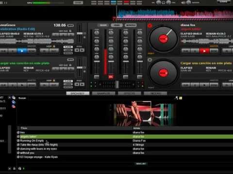 Tocando m sicas no virtual dj sem pausa youtube for Mesa de mezclas virtual