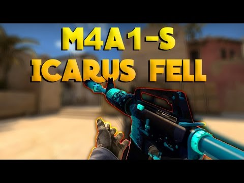 CS:GO - M4A1-S | Icarus Fell - Showcase+Gameplay