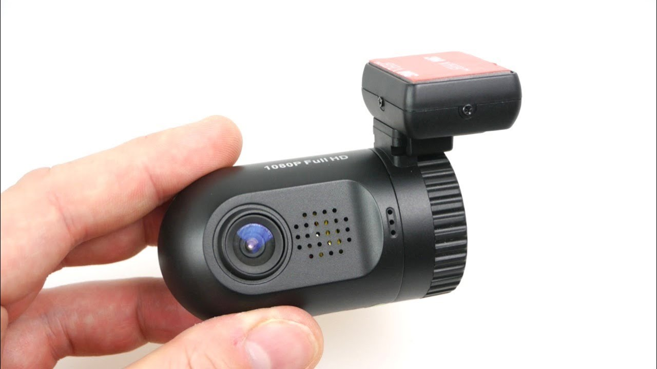REVIEW: Mini DVR 0801 The Smallest 1080p LCD Car Dash Cam with Ambarella  A2S60 - Best Mini Car Cam