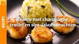 Risotto met champagne en truffel