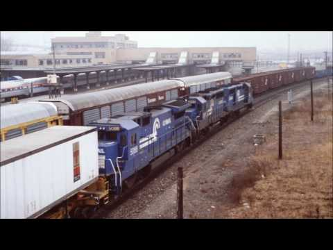 Conrail radio transmissions, Toledo OH, March 10, 1990, part one
