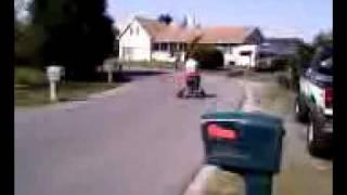 Jared On My Bar Stool Go Kart