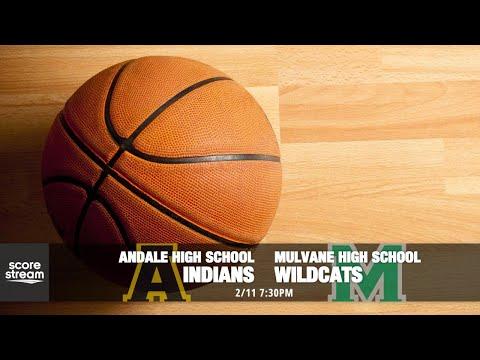Mulvane High School Basketball VS Andale