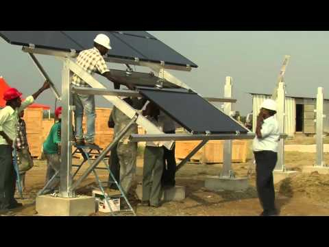 RLCPPL solar power plant connects   to GRID
