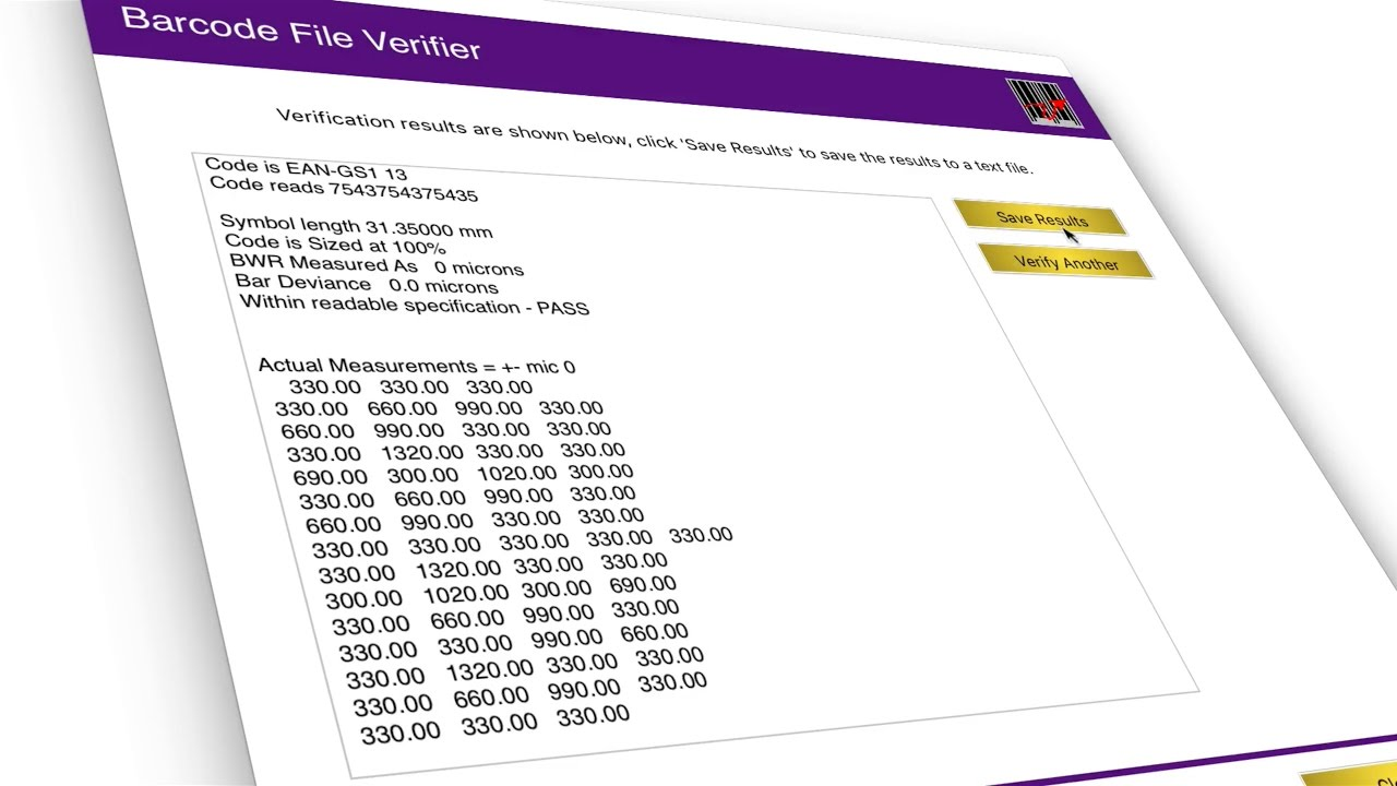 Barcode Verifier Software for Mac OSX and Windows PC - Peninsula,  Generating Professional Barcodes