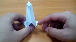 Оригами - лебедь