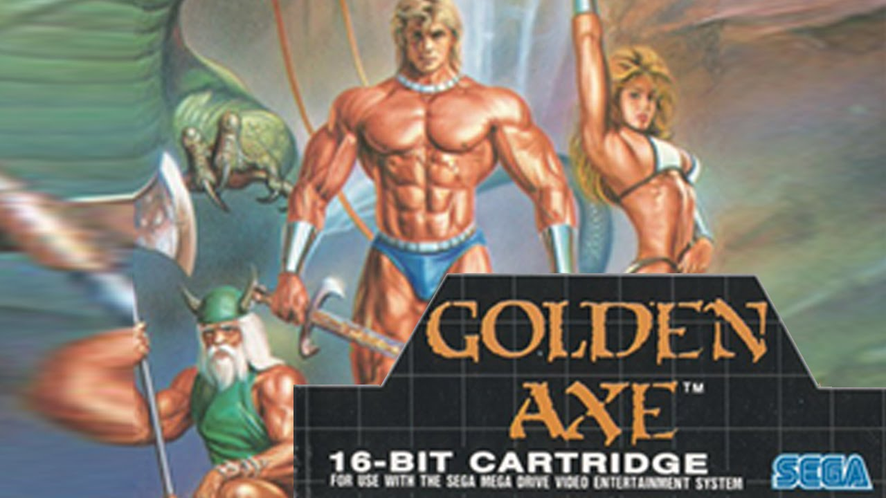 GoldenAxe??? - Jerma came here for local co-op session. We played gangbeasts for his channel...and then all I could think to play was Goldenaxe. Great choice. Solid. No regret