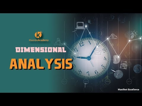 What is dimensions of a physical quantity | How to find dimensions |  dimensional analysis