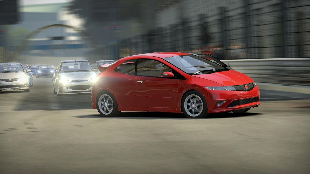 nfs shift 2 unleashed hd 2007 honda civic typer euro