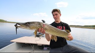 Fly Fishing For The First Time? Ft. UncutAngling -- Manitoba Vlog No.1