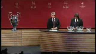 UEFA Champions League Quarter Final Draw 2009