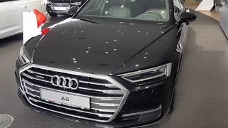 Новый Audi A8 L 2020 Oбзор