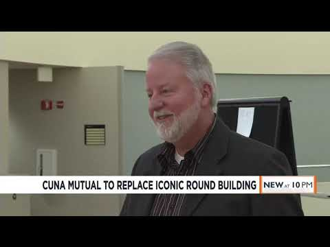 Say Goodbye To CUNA Mutual's Iconic Round Building. Here's Why The Company Wants To Tear It Down.