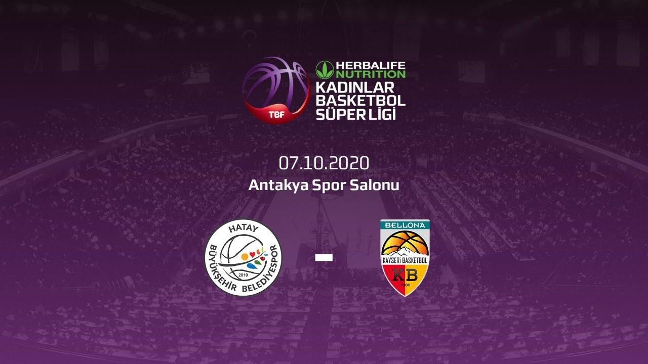 Hatay Bşb. – Bellona Kayseri Basketbol Herbalife Nutrition KBSL 2.Hafta