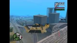 GTA San Andreas vznášedlo vortex mod