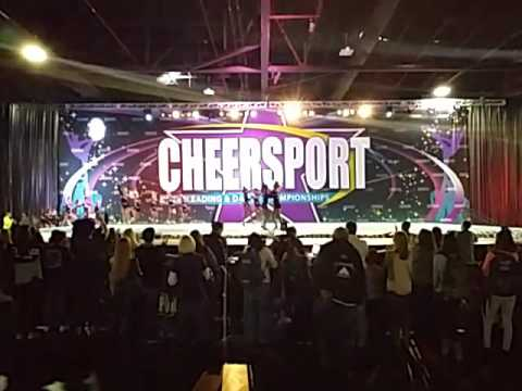 ACX Crazy Jags Small Jr  5 - 2016 Cheersport National Champions