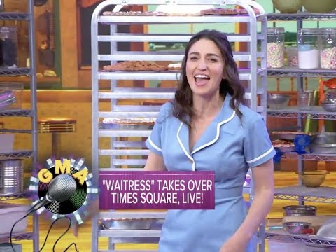 Sara Bareilles and the Company of WAITRESS on GMA