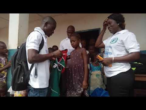 School Sponsorship project implementation at D.E.C. primary school, Kori Chiefdom Moyamba District