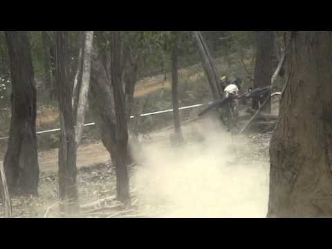 Victorian Downhill State Series - Long Gully Bike Crash