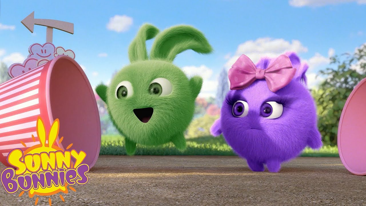 SUNNY BUNNIES - Popcorn Frenzy | Season 5 | Cartoons for Children