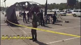 انتحاري يفجر نفسة  على  موكبا حسينيا في الجادرية ببغداد