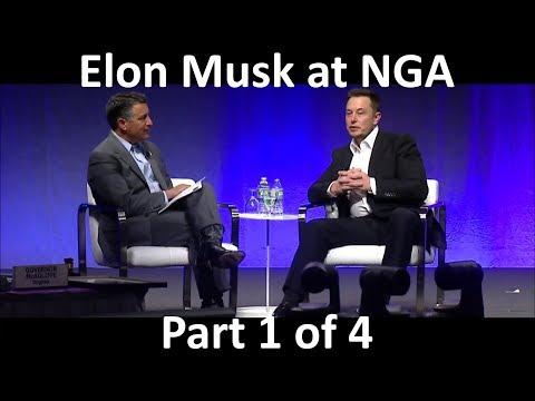 Elon Musk Keynote/Interview at NGA - 2017-07-15 [Part 1/4]