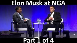 Elon Musk Keynote/Interview at NGA - 2017-07-15 [Part 1/4]