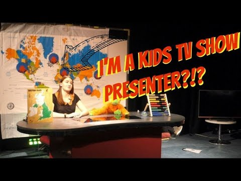 I WAS A KIDS TELEVISION SHOW PRESENTER FOR THE DAY?!