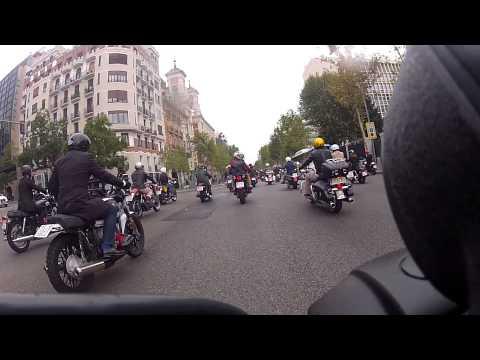Distinguised Gentleman's Ride Madrid 2014