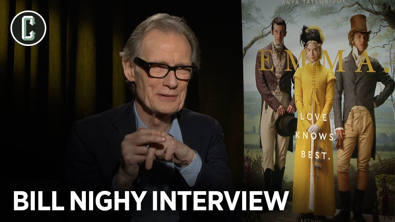 Emma Star Bill Nighy Reveals Why He Makes Emily Blunt Fake Vomit