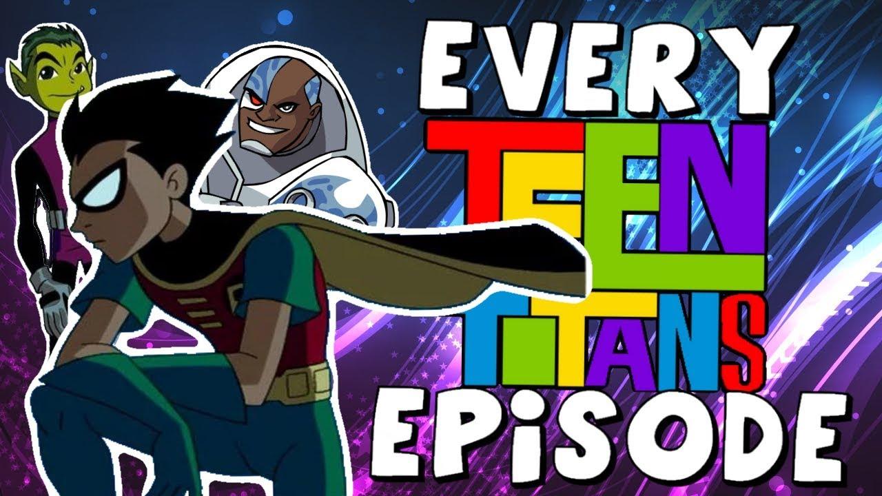 Cartoon Network Showing Every Original Teen Titans Episode -1264