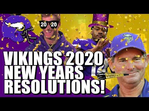 Vikings 2020 New Years Resolutions
