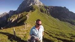 Wanderung Stockhorn - Walalp mit einem wunderschönen Gleitschirm-Tandemflug
