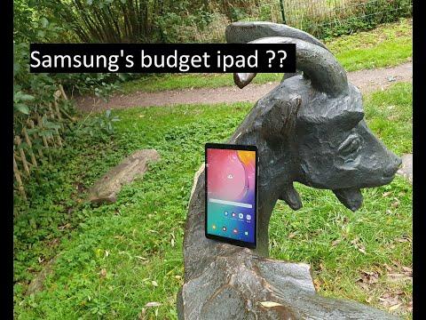 Samsung Tablet || Galaxy Tab A !! Samsung's best quality budget tablet.....