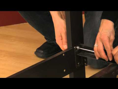 How to attach a headboard to a metal frame