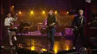 Franz Ferdinand - No You Girls (Live Letterman 2009)