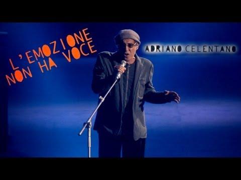 Adriano Celentano - L'emozione non ha voce (LIVE 2012)