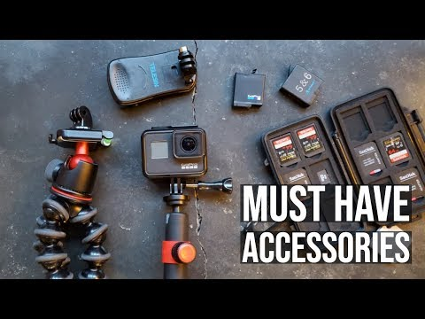 Top 8 GoPro Accessories 2019 - You Need These For Your New GoPro!